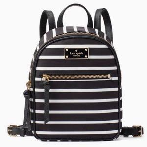 Kate Spade Mini Bradley Wilson Rd Nylon Backpack